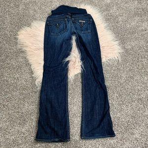 Hudson maternity jeans size 28
